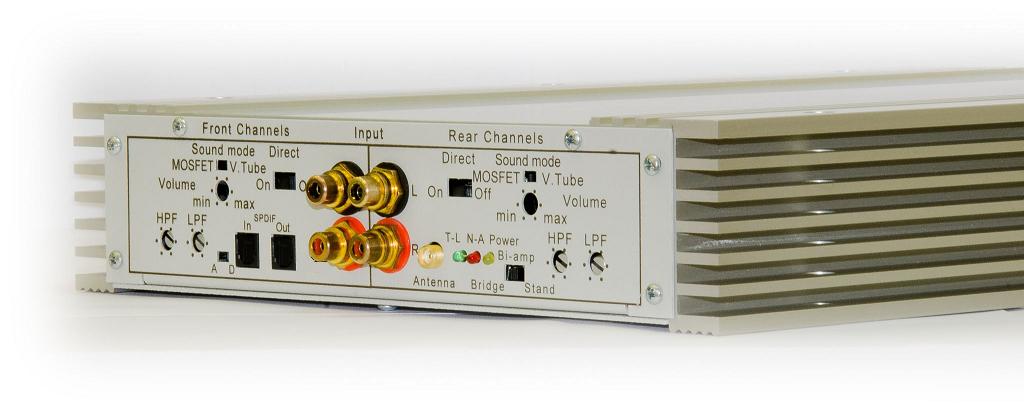 4-channel Car Amplifier X3